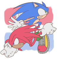 Rivals -Sonic the Hedgehog- by XavierScribbles