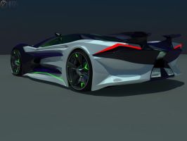 Honda Concept 2 back by faith120