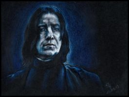 Severus Snape II by SecondGoddess