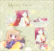 Horo:Spice and Wolf Signature by NaruOc