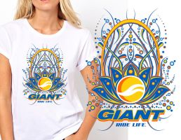 Giant - Ride Life - Tshirt Contest Submission by reyjdesigns
