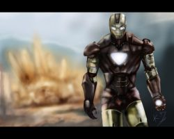 own immpression of the ironman before ironman2 by k-d-art