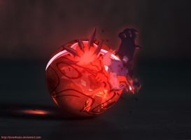 The Pokeball of Yveltal by Jonathanjo