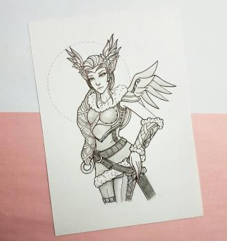 Valkyrie Mercy by N1mh