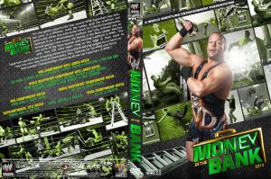 WWE Money in the Bank 2013 DVD Cover V3 by Chirantha