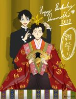 xxxholic:Happy Bday Doumeki by anzu-ki5