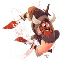 Bloody Barbarian by DerekHunter