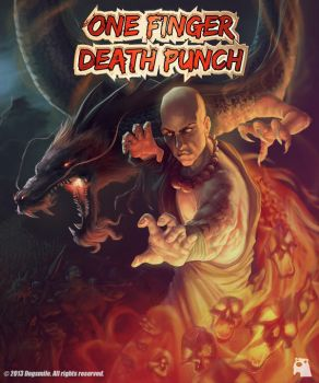 One Finger Death Punch by Adrianohq