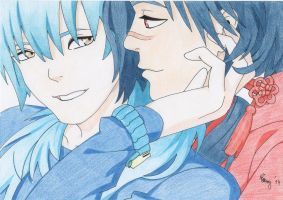 Aoba and Koujaku - DMMd by PKlovesDW