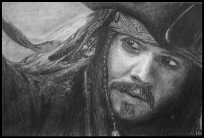 Captain Jack Sparrow by anakomb