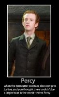 Percy Demotivational Poster by MikiMichelleMAL
