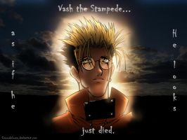Trigun - Crying Blood Vash by Coeurdelouve