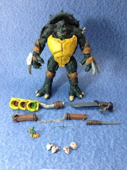 TMNT Slash custom action figure by connorobain