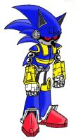 """True"" Mecha Sonic by Renegade-V"