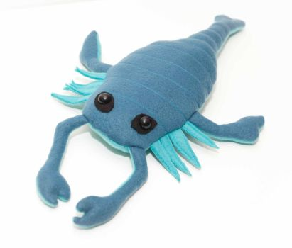 Pterygotus plush by Paleogirl