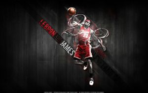 LeBron James by HWP-Productions