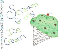 Scream For My Icecream by smoshpopo
