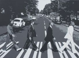 The Beatles - Abbey Road by STiX2000