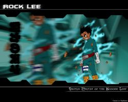Rock Lee Wallpaper by SoulReaver737