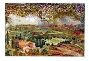Storm Over Tuscany by richardcgreen