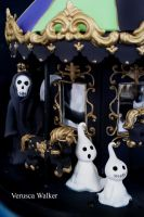 halloween carousel close-up by Verusca