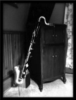 Bass Clarinet by OverIronKill