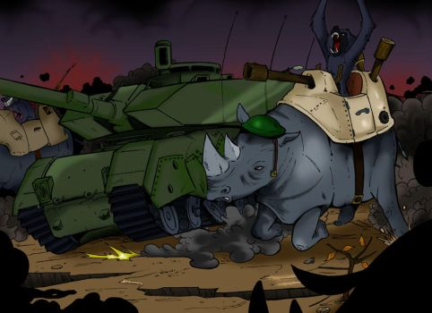 Beast Wars - Ground Infantry by BoscoloAndrea