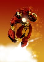 Iron man colored by gz12wk