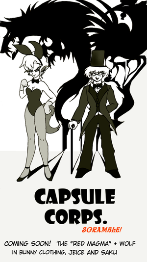Capsule Corps.: Cover