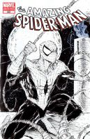Spidey sketchcover by adelsocorona