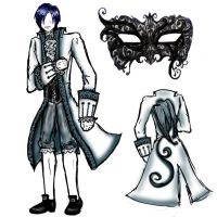 TS Masquerade Outfit by lavenderdomain