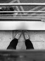 looking down. by Converse001
