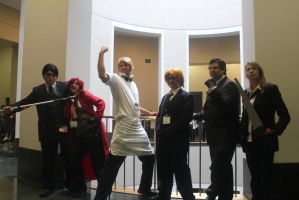 Anime Boston 2013 Shinigami and the.. Human? by WeLiveToCosplay