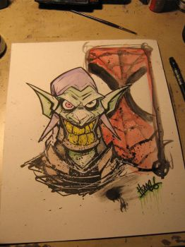 GREEN GOBLIN quick and dirty by ragefist