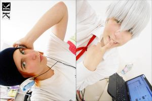 Project K: Misaki and Yashiro by Smexy-Boy