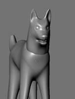 WIP Dog/Wolf Model 2 by RakshaWw