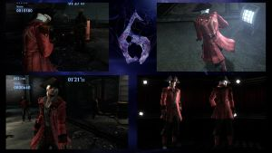 Resident Evil 6 Leon as Pirate Dante vol 1.5 by monkeygigabuster