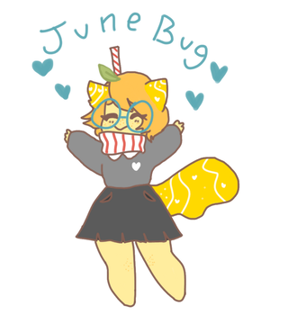 more junebug, cutest strawfy ever by shadowkitty13