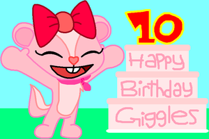 Happy Birthday, Giggles n_n by HeartinaThePony