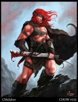 Red Sonja by cmalidore