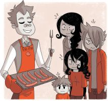 Sausages by yllya