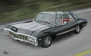 Chrevolet Impala 1967 by hedgehog3000