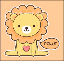 Ru the lion by SqueakyToybox
