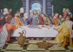 The Last Supper by halupka