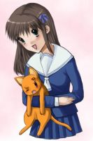 Fruits Basket- Tohru and Kyou by Raeri-Chan