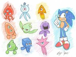 SONIC COLORS by JenntheVampire