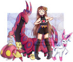 Pokemon and more pokemon by N00b-with-a-tablet
