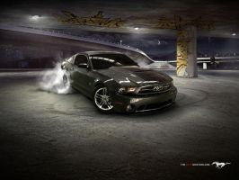 2010 mustang by san29