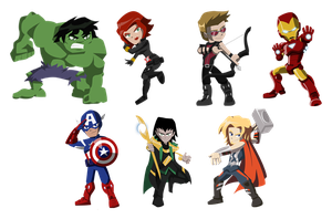 Avengers by NightLokison