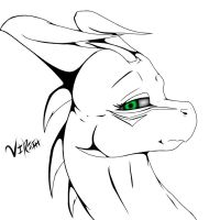 Virith Head-Shot - Gift by Kurtassclear